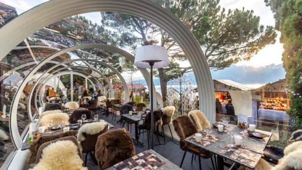 Le Tube à Fondues - Eurotel Montreux vue de la salle