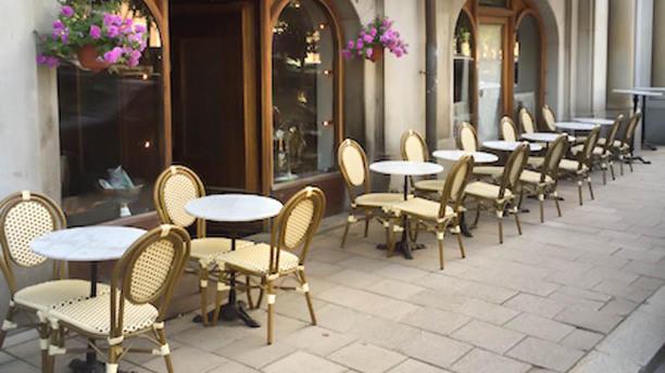 Café Oscars terrass