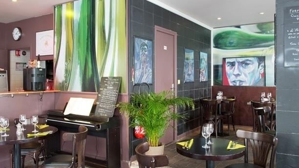 Le Comptoir d'Alain le Sommelier Salle du restaurant