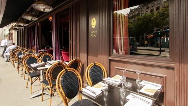 Sir Winston Terrasse du restaurant