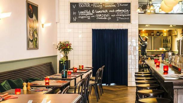 Brasserie Zandberg restaurantzaal