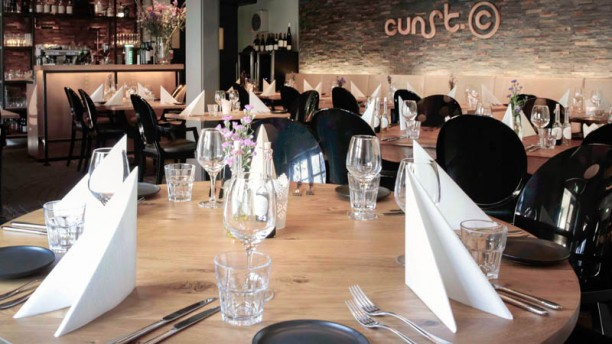Cunst restaurantzaal