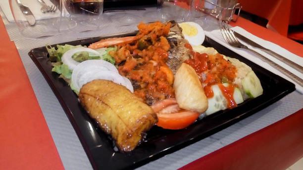 Au Taboulé Gourmand Attiéké (tchiéké) au poisson ou au poulet