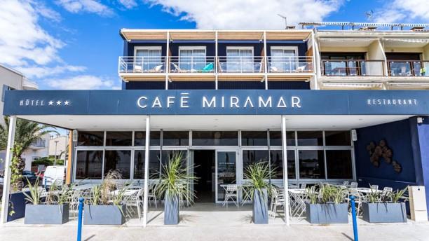 Hotel café Miramar Entrée