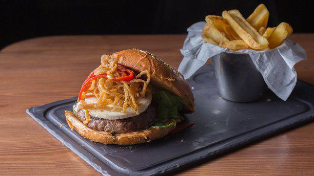 Steakburger Luchana Plato