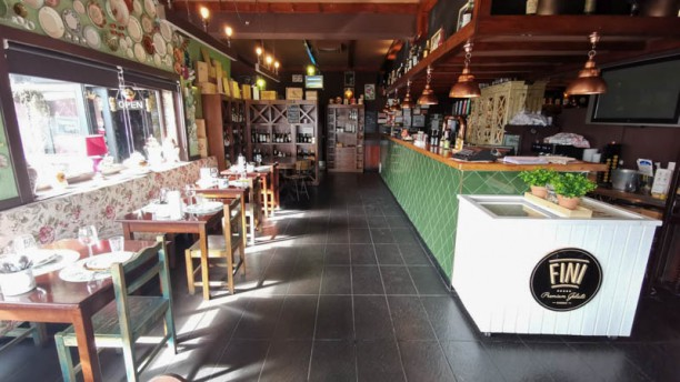 CASA Restaurante Petiscaria Bar Vista da sala