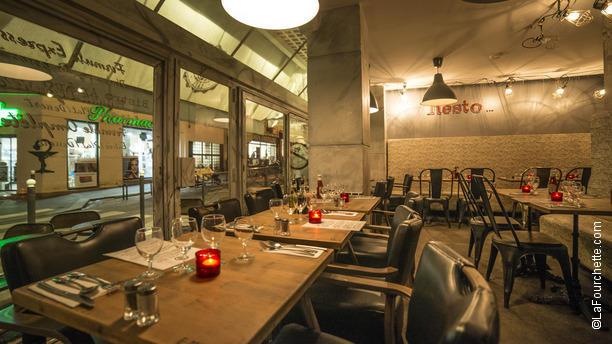 L 39 atelier jules in paris restaurant reviews menu and for Restaurant la salle a manger paris