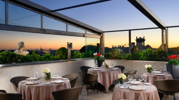 Granet Restaurant & Terraces in Rome - Restaurant Reviews, Menu and ...