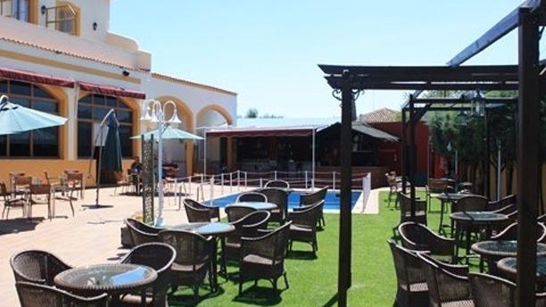 Hotel Los Barruecos Vista terraza