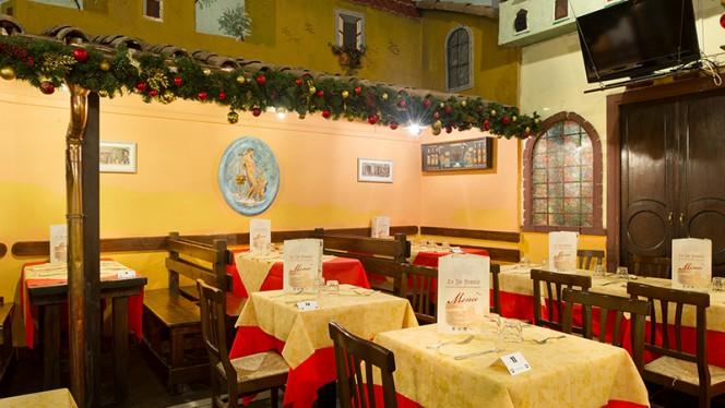 La sala - Lo Zio Frankie, Rome