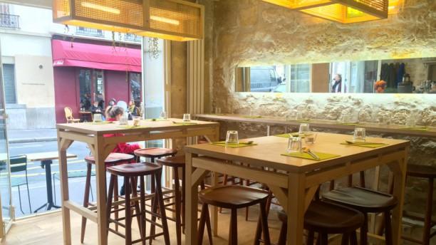 Jules et Shim-Bichat Salle du restaurant