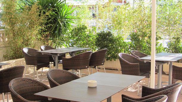Andra Mari Vista terraza