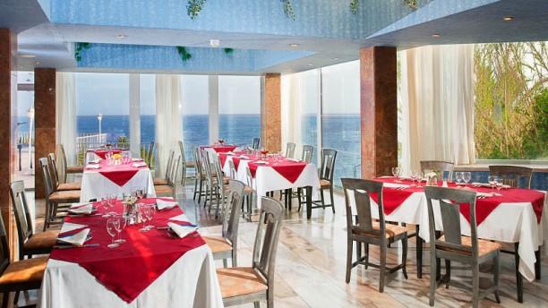 Raj Indian Restaurant Vista da sala