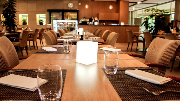 Colladon Parc - restaurant bistronomique Tables