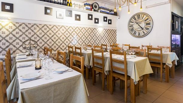 Costa Vicentina sala do restaurante
