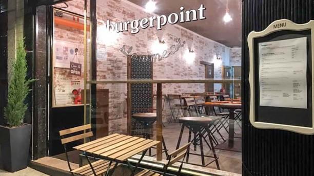 Burger Point Vista da sala