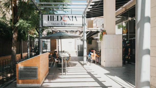 Hedonia Tapas&Brasas Vista de la sala