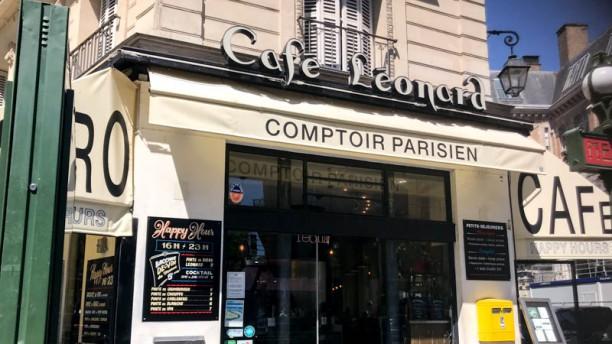 restaurant caf leonard paris 75003 r publique menu avis prix et r servation. Black Bedroom Furniture Sets. Home Design Ideas