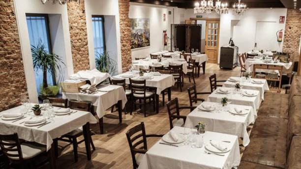 Huerta y Caldero Sala del restaurante