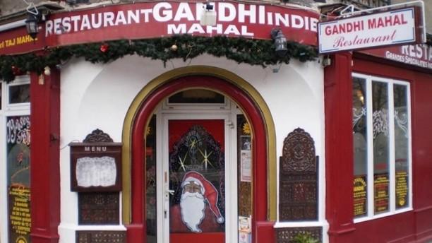 Gandhi Mahal Façade du restaurant