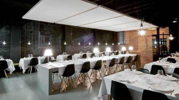 La Fundició Restaurant i Viniteca Vista de la sala
