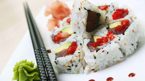 Iki Sushi uramaki
