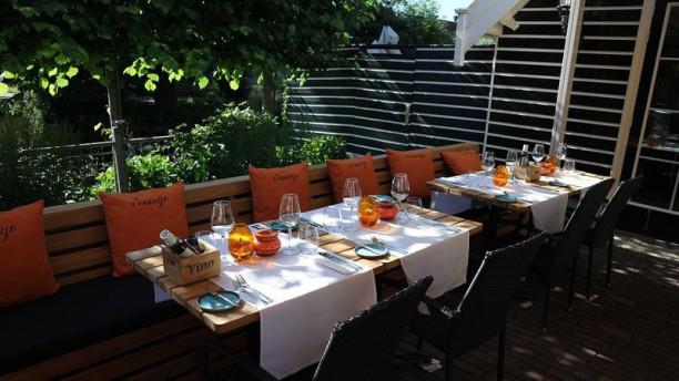 Restaurant 't Vaantje Terras