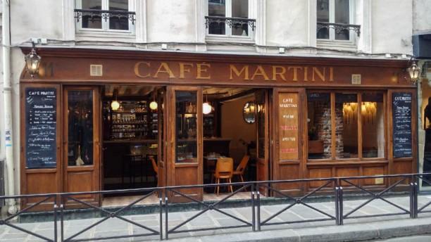 Café Martini Devanture