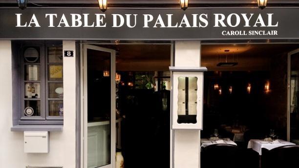 la table du palais royal restaurant 8 rue de beaujolais 75001 paris adresse horaire. Black Bedroom Furniture Sets. Home Design Ideas