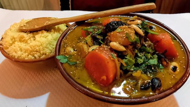 La Fourchette Berbère Spécialité du chef (couscous saveurs sucrées)