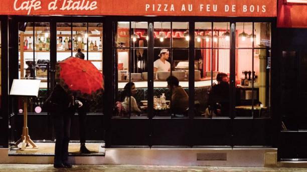 Café d'Italie Façade du restaurant
