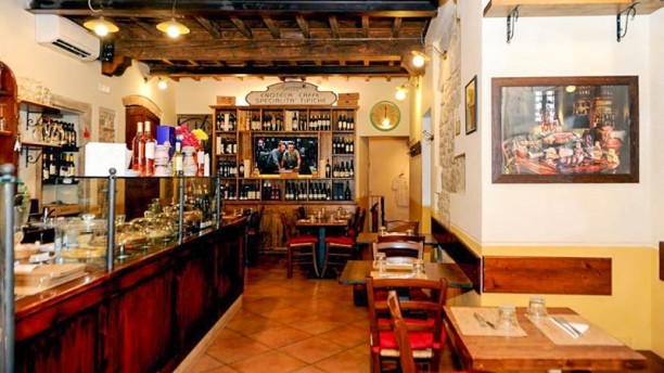 Agricola Toscana Sala del ristorante