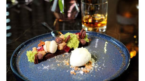 Restaurant Van der Valk Apeldoorn dessert