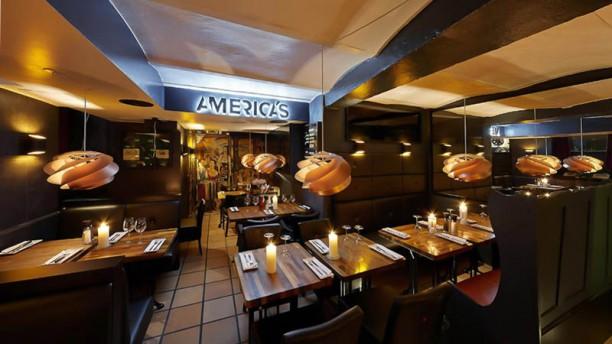 Americas Grill Restaurangens rum
