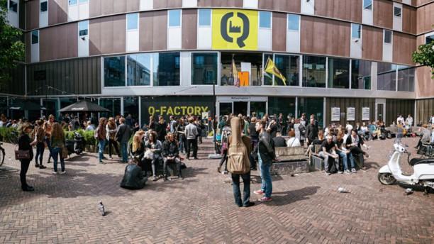 Q-Cafe Amsterdam Terras