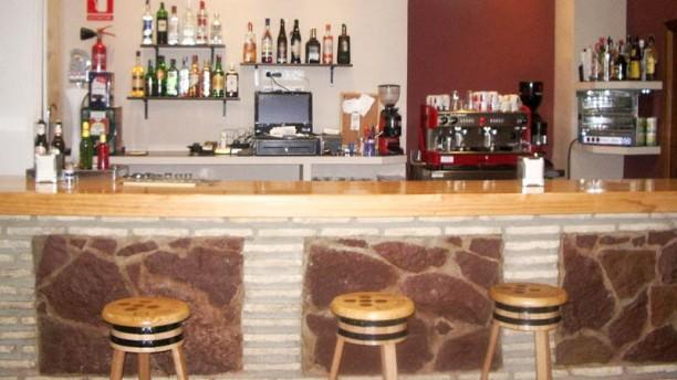 El Boquerón Vista del bar