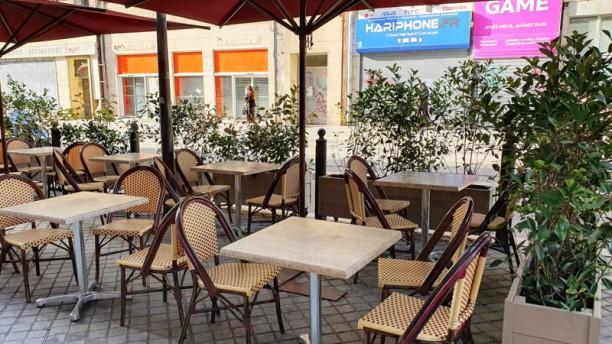 Café l'Aiglon Terrasse