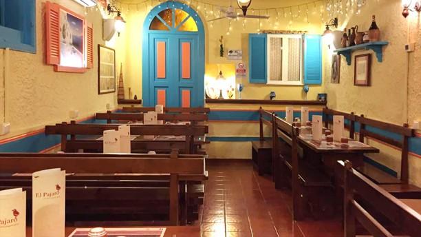El Pajaro Cucina Spagnola e Greca Vista della sala