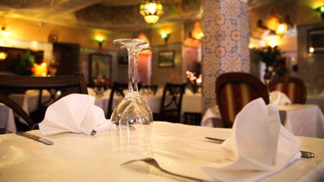 Table dressée - Rajasthan Villa, Toulouse