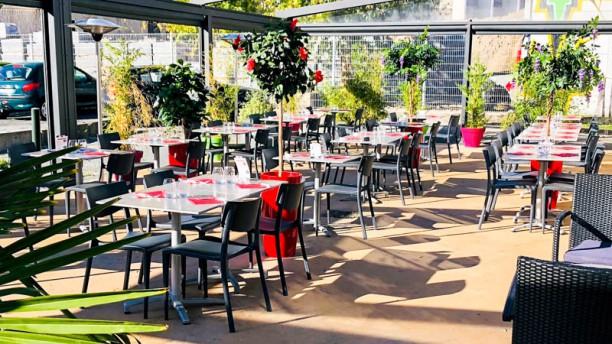 Brasserie O'melting Terrasse