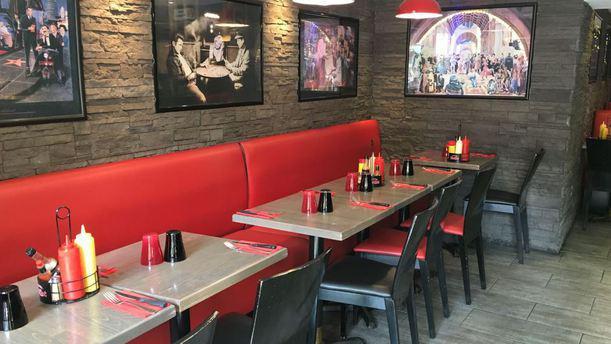 broadway caf salle intrieur