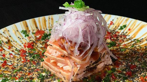 Zeni Sushi Moema Tataki de Salmão