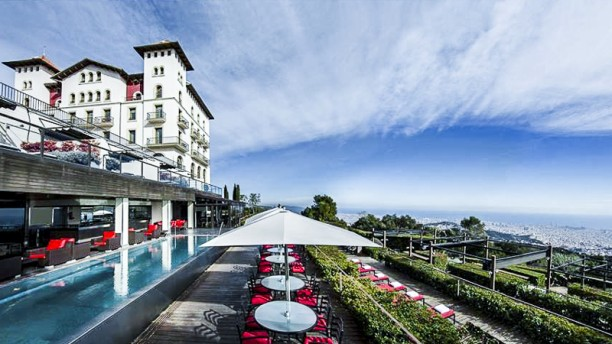 Restaurante l 39 orangerie hotel la florida en barcelona for Restaurante la campana barcelona