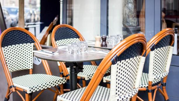 Café Les Écrivains En terrasse