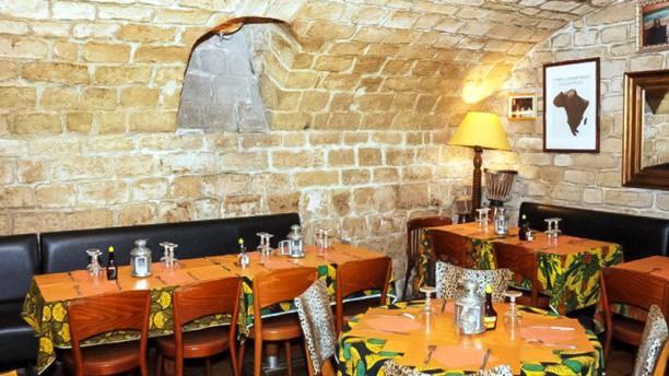 Le Lion Indomptable Salle du restaurant