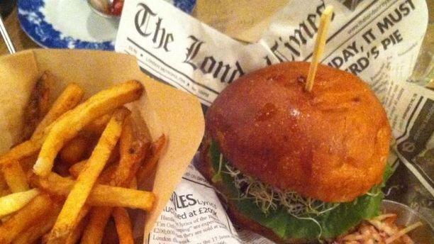 Burger's Banquet burger's banquet