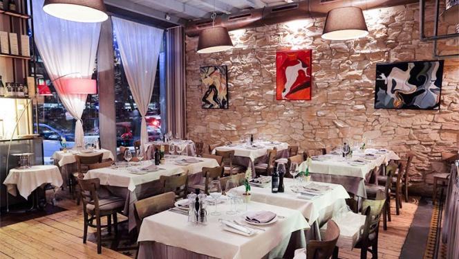 La sala - Marcellino Pane e Vino, Milan