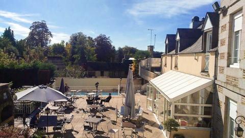 restaurant - Le Cygne - Chèvreville