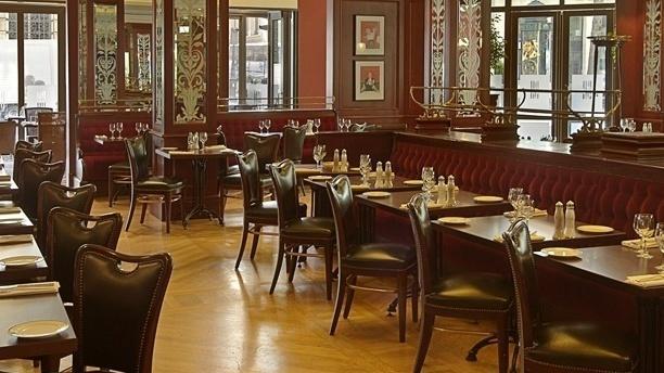 Brasserie Haussmann Vue de la salle