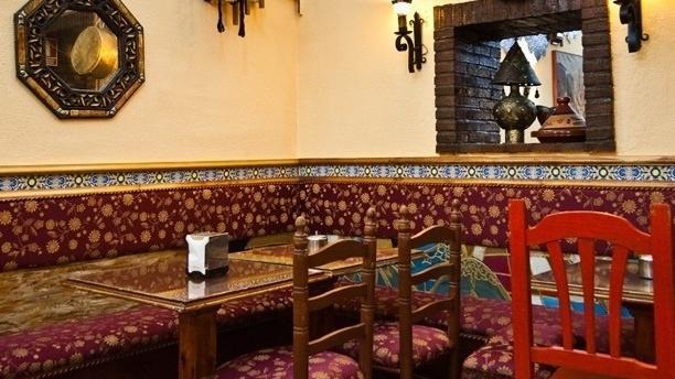 El Califa Vista mesa